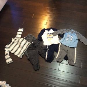 3 full boys Gymboree outfits